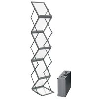 Brochureholder S20-metal & akryl