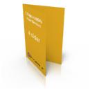 Billig digitaltryk af midterfalset folder hos Discountprint