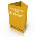 Billig digitaltryk af rullefalset folder hos Discountprint