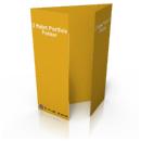 Billig digitaltryk af portfalset folder hos Discountprint