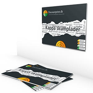 Kappa skumplader 10 mm (letvægtsplader)