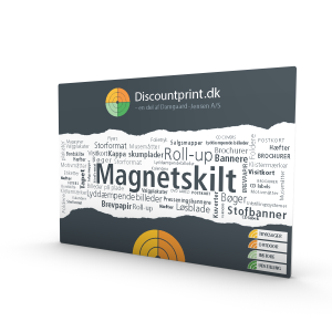 Magnetskilte, 0,9mm