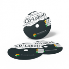 CD eller DVD labels