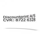 Firmanavn og CVR nummer til montering på bilen