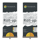 Roll-up | Kampagne 100x200 cm.