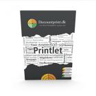 10 mm Printlet, PVC, 4+4